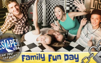 family fun day, escape room